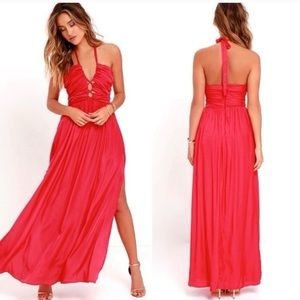 Lulu's maxi dress maximum magnificence